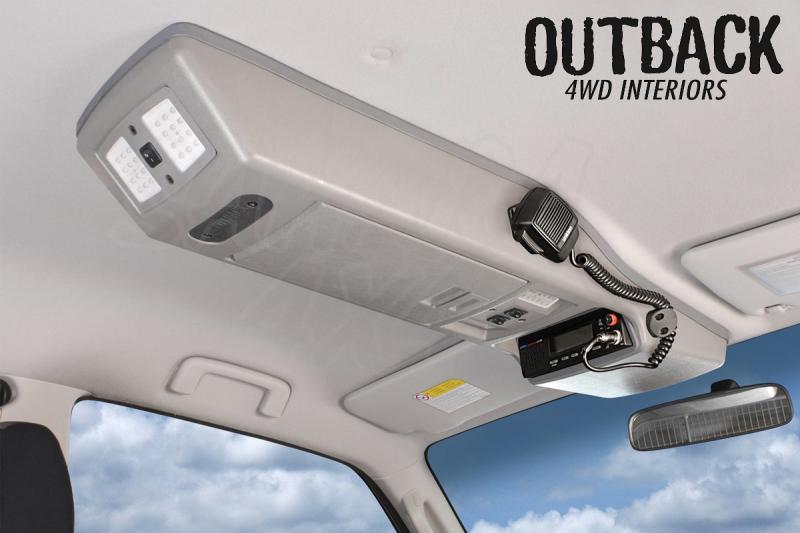 Consola de Techo Outback 4wd Interiors  - Valida para Ford Ranger