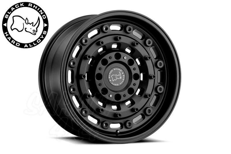 Llanta Black Rhino Arsenal Negro Mate 8x16 5x160 ET35 65.1 CB