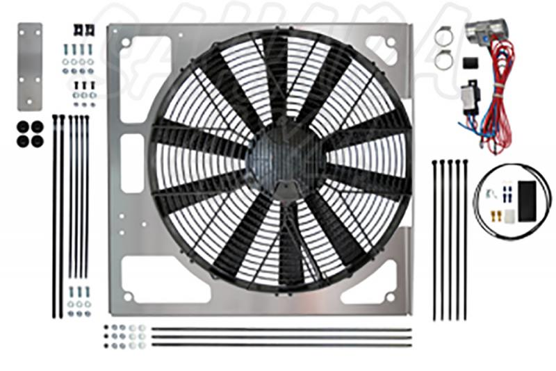 Electronic Fan Conversion forLand Rover Defender Td5 / Discovery TD5 - Electronic Fan Conversion kit is an ideal replacement the original viscous fan.