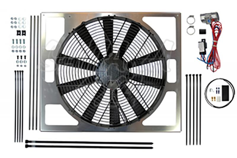 Electronic Fan Conversion forLand Rover Defender TDCI - Electronic Fan Conversion kit is an ideal replacement the original viscous fan.