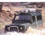 Baca Gran Expedición Land Rover Defender - PORTA EQUIPAJES GRAN CARGA MOD. (AFRICANA INTEGRAL) DEFENDER CORTO O DEFENDER LARGO