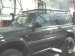 Baca Plana Expedición Toyota Land Cruiser HDJ80 - PORTA EQUIPAJES MOD. PLANO