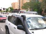 Baca Gran Expedición Toyota Land Cruiser KDJ 120/125 - PORTA EQUIPAJES MOD. AFRICANA LARGO 5 PUERTAS
