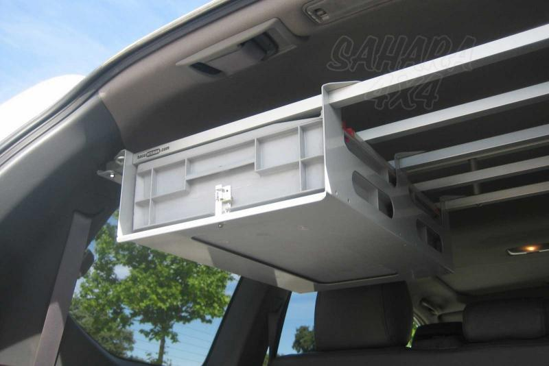 Soporte de caja para Baca interior  - Caja Incluida