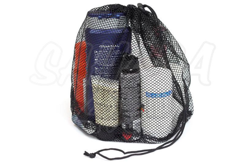 Bolsa tipo red Front Runner - bolsa de malla para almacenar varios artículos.