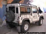 Barras Antivuelco exteriores Land Rover Defender - Disponibles para 90/110/130