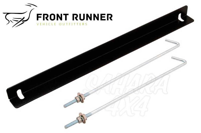 Soporte doble batería Front Runner para Land Rover Defender - Valido para diferentes modelos.