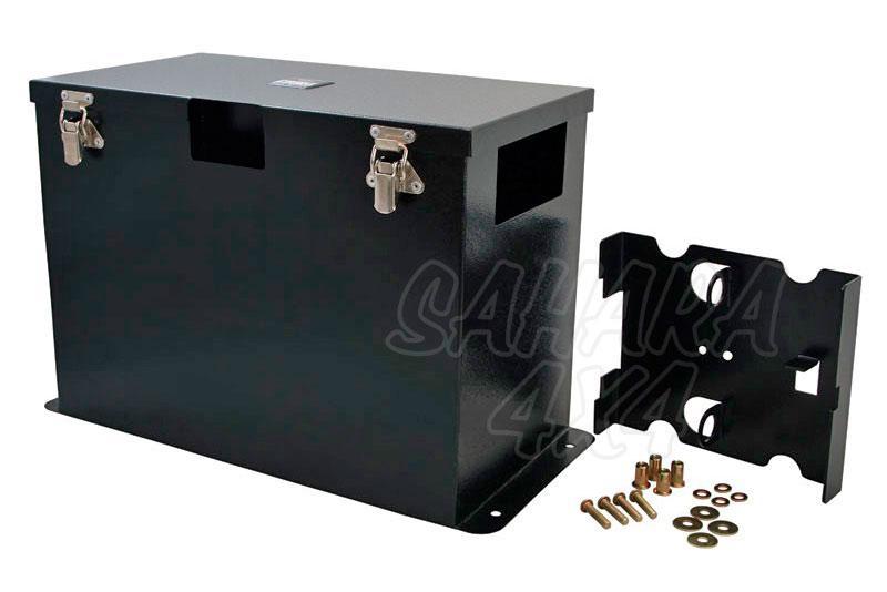 Caja universal para bateria 105A
