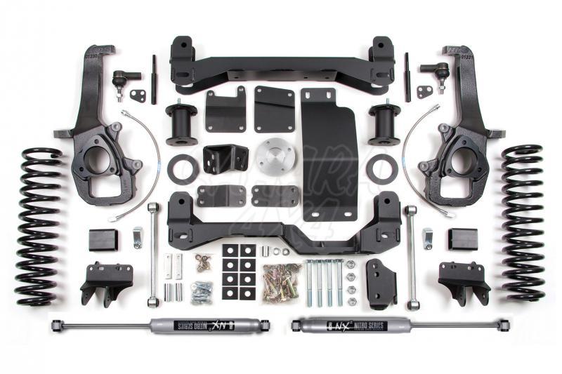 Kit elevacion BDS Air Ride Kit 15.24 cm Dodge Ram 1500 4WD 13-16 - Kit Completo