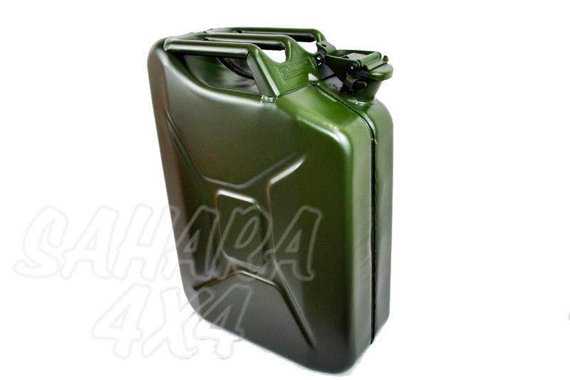 Bidon 20 L metalico tipo Aleman Verde