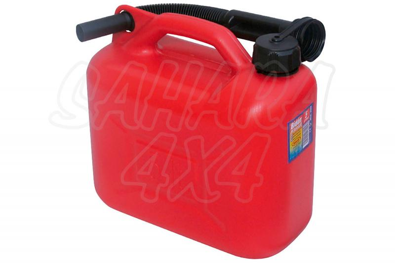 Bidón gasolina plástico  - Bidón con Homologación Europea. Diferente medidas.