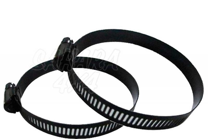 Brida negra para snorkel - Varias medidas