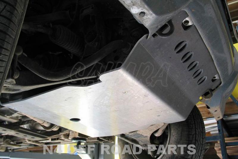 Protecciones N4 Duraluminio 8 mm Montero V60 - Disponible Cubrecarter , Cubre Cambios .
