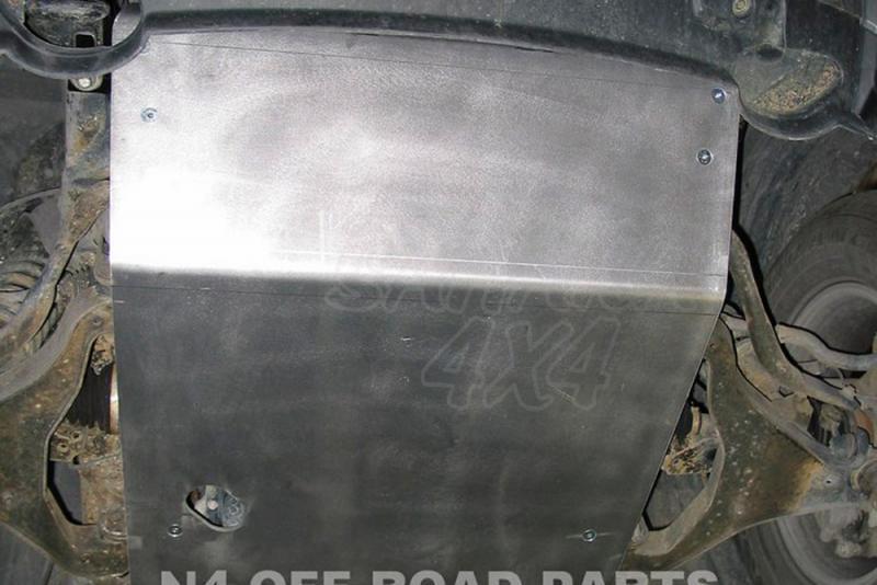 Protecciones N4 Duraluminio 8 mm Navara D40/Pathfinder - Disponible Cubrecarter , Cubre Cambios .