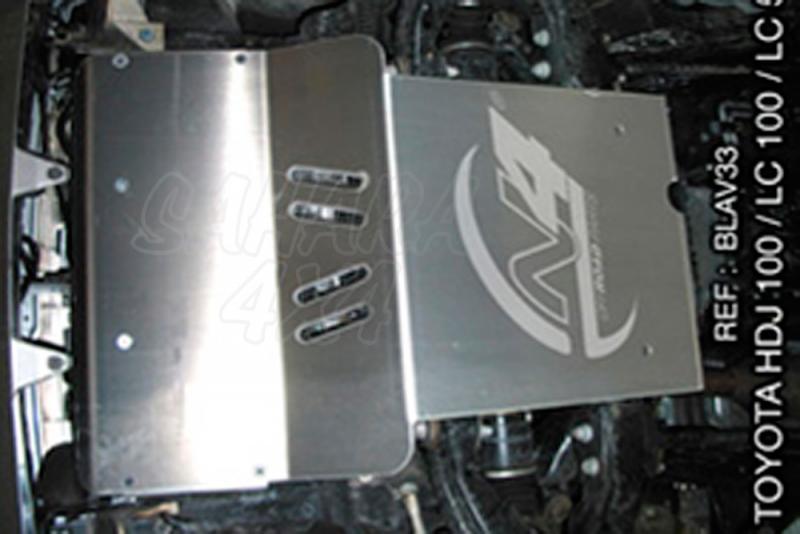 Protecciones N4 Duraluminio 8 mm HDJ 100 - Disponible Cubrecarter , Cubre Cambios y transfer .