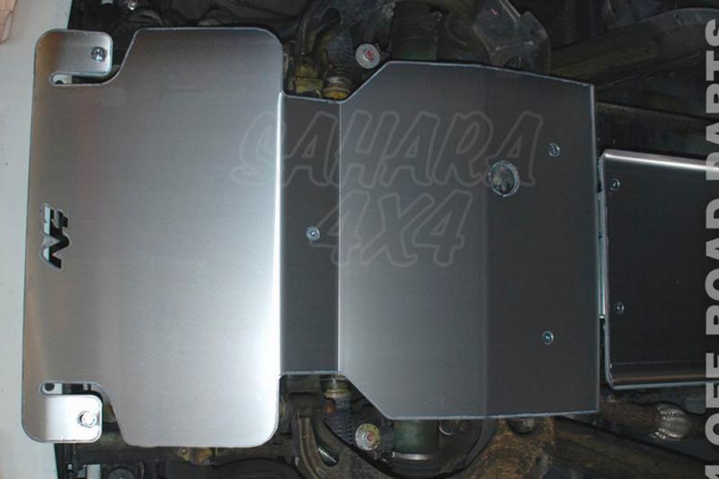 Protectores N4 Duraluminio 8mm Isuzu D-Max - Fotos orientativas , no contractuales.