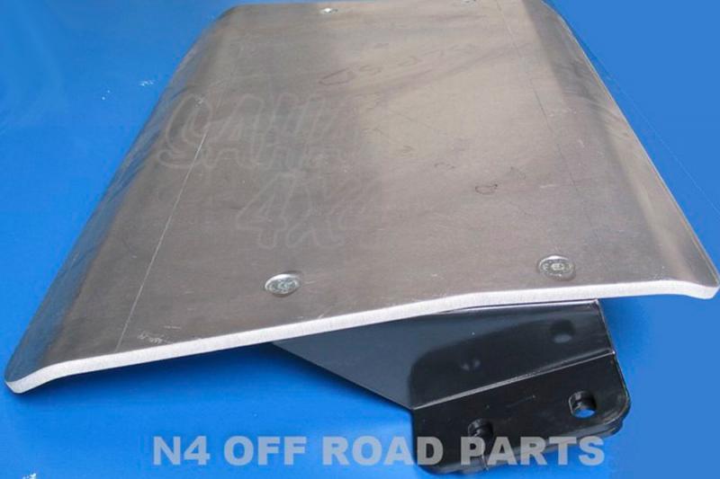 Protecciones N4 Duraluminio 8 mm HDJ 80 - Disponible Cubrecarter , Cubre Cambios .