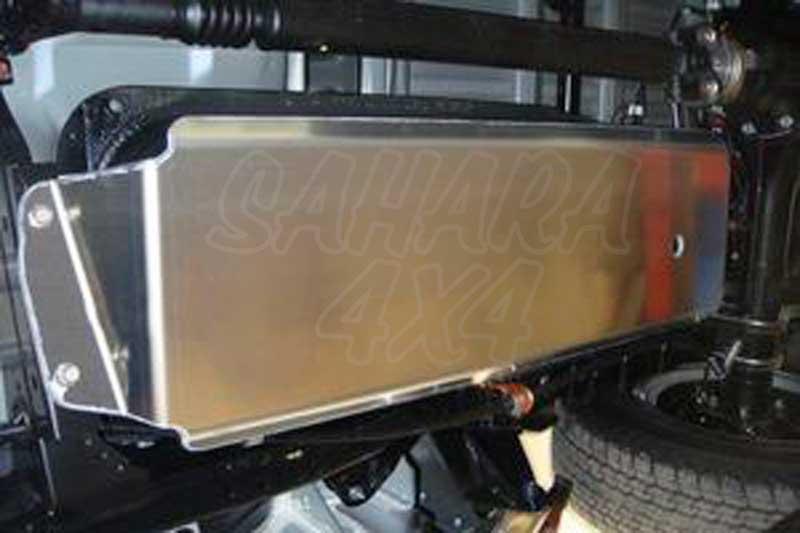 Protecciones N4 Duraluminio 6mm Deposito Ford Ranger Mazda BT - Ford Ranger Mazda BT