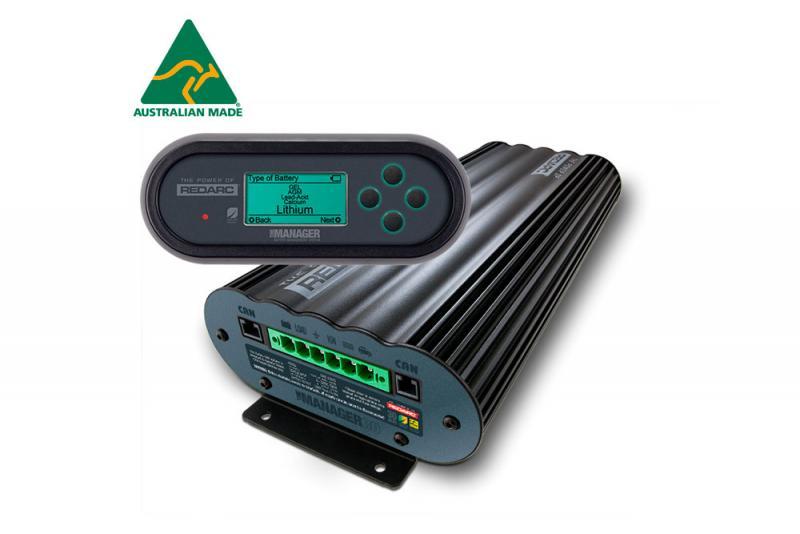 Gestor batería auxiliar + cargador multietapa 30Amh (Redarc)