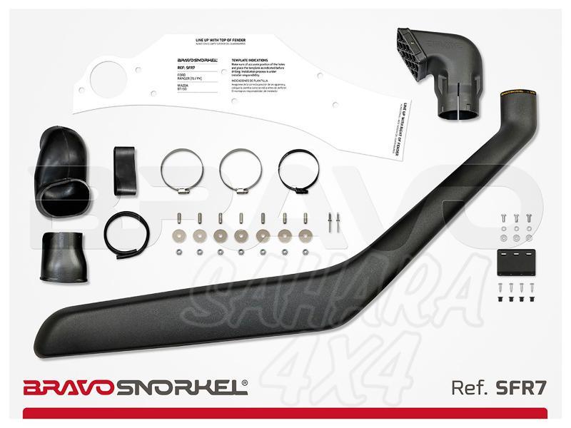 Snorkel Bravo para Ford Ranger PJ/PK (2007 - 2011) - El auténtico Snorkel Europeo