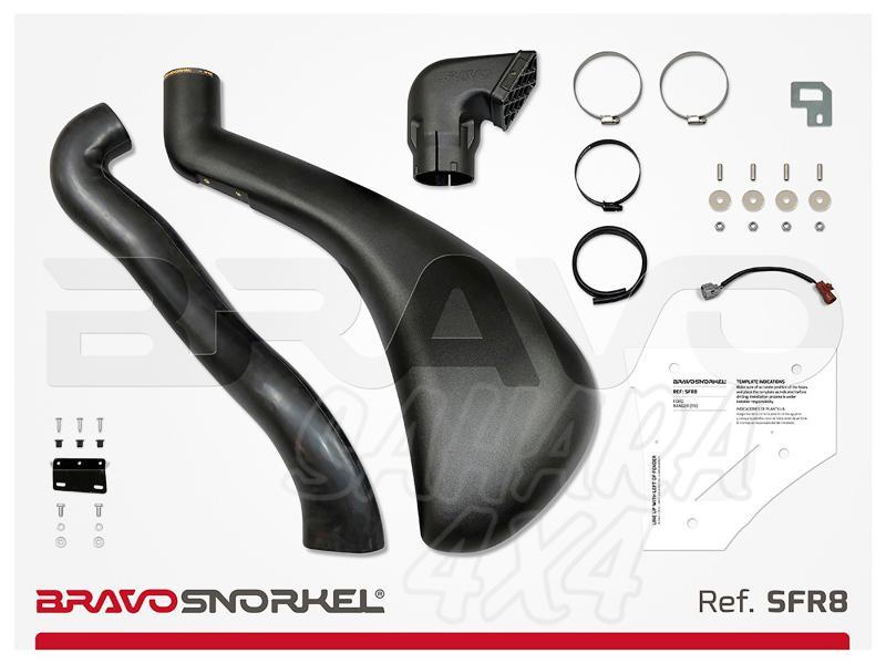 Snorkel Bravo para Ford Ranger PX (2011-) - El auténtico Snorkel Europeo