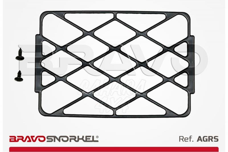 BRAVO SNORKEL HEAD STANDARD GRILL - Rejilla válida para snorkel economico y safari snorkel original