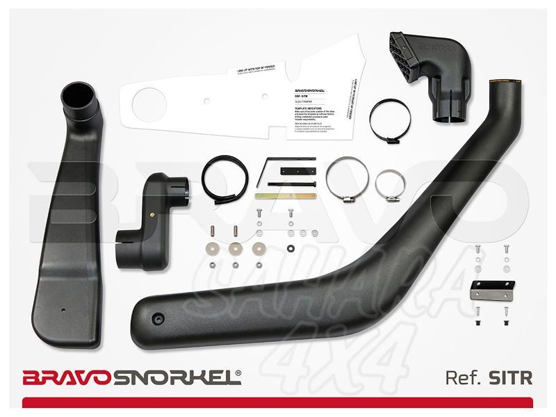 Snorkel Bravo para Isuzu Trooper (1992-2004) - El auténtico Snorkel Europeo