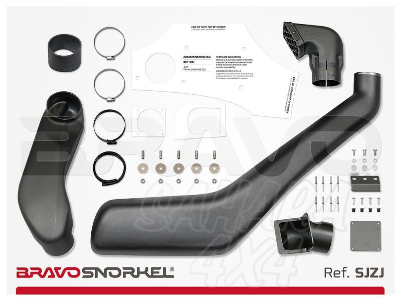 Snorkel Bravo para Jeep Grand Cherokee ZJ (1993-1998) - El auténtico Snorkel Europeo