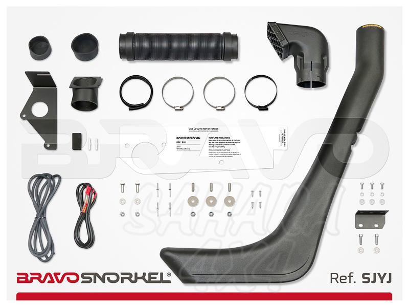 Snorkel Bravo para Jeep Wrangler YJ (1987-1996) - El auténtico Snorkel Europeo
