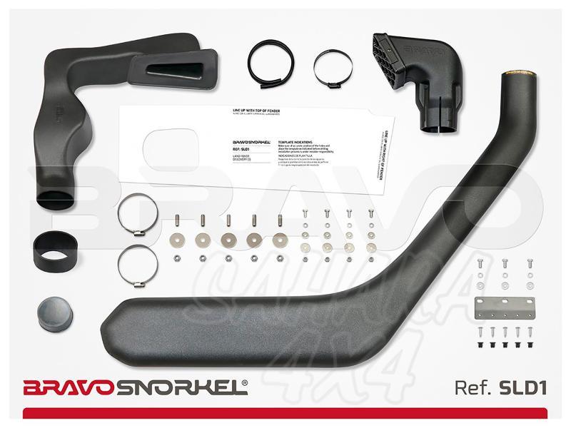 Snorkel Bravo para Land Rover Discovery I 300 SIN ABS (1994-1998) - El auténtico Snorkel Europeo