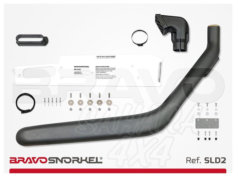 Snorkel Bravo para Land Rover Discovery II (1999-2005) - El auténtico Snorkel Europeo
