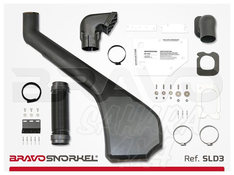 Snorkel Bravo para Land Rover Discovery III/IV (2005-2016) - El auténtico Snorkel Europeo