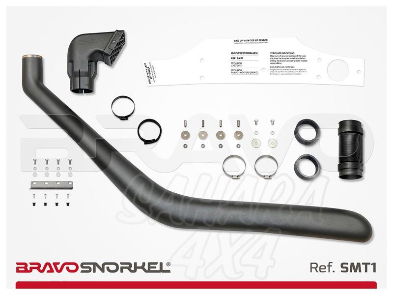 Snorkel Bravo para Mitsubishi L200 MK (1996-2006) - El auténtico Snorkel Europeo