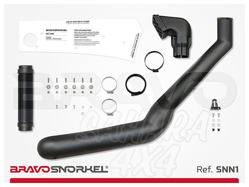 Snorkel Bravo para Nissan Terrano I (1990-1996) - El auténtico Snorkel Europeo