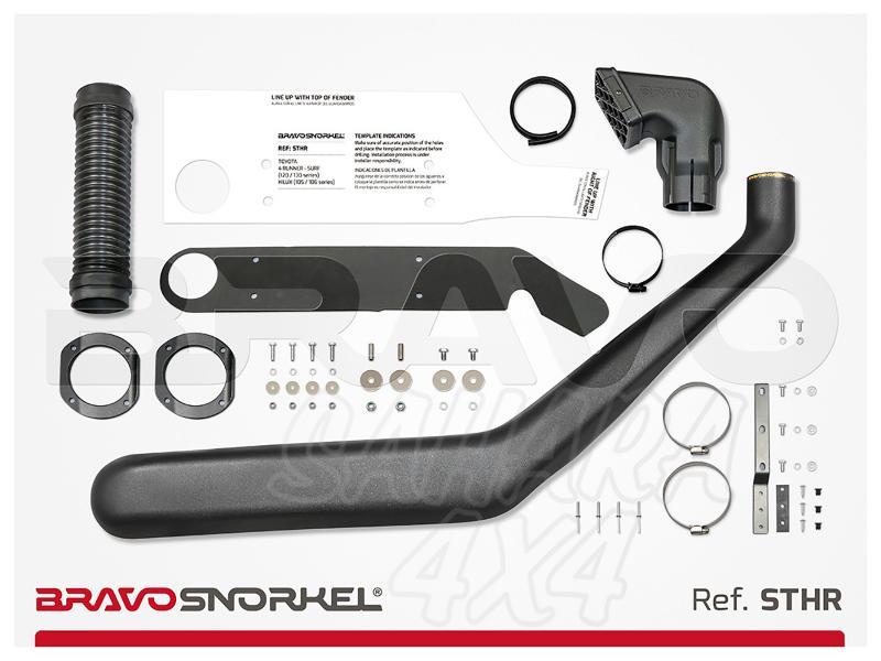 Snorkel Bravo para Toyota 4 Runner - El auténtico Snorkel Europeo