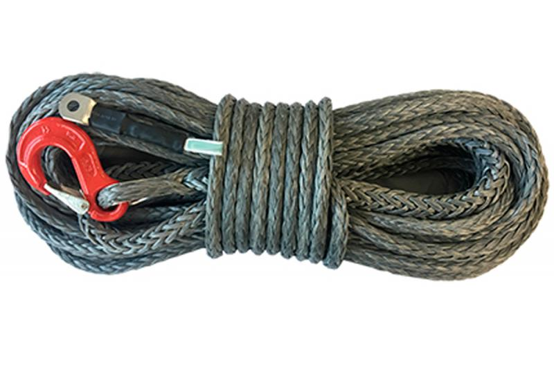 Cable de fibra WINCH ROPE gris , varias medidas