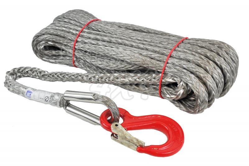 Cable de fibra NOVOLEEN gris , 8mm x 30 mts