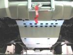 Protectores de Bajos Toyota Land Cruiser HDJ100 - Disponible: Cubrecárter, Cubretransfer y cambio, Cubredepósito o Cubrediferencial trasero con patín desm. (especificar producto)