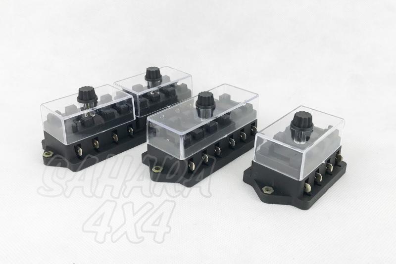 Caja de fusibles auxiliar (varios tamaños) - Recomendable para instalaciones 12v.