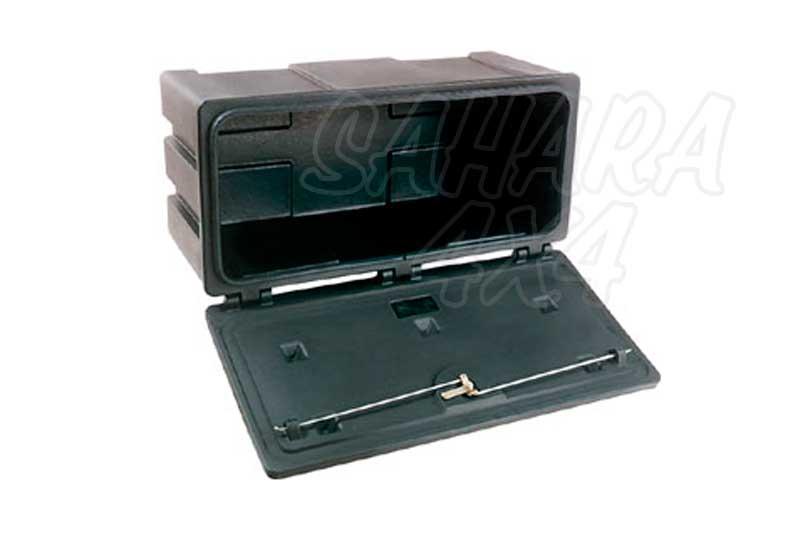 Caja de plastico con cerradura - Disponibles en dos medidas, maxima seguridad y resistencia.