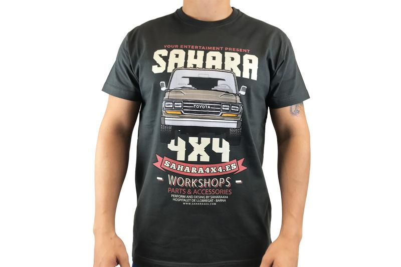 Camiseta Sahara 4x4 Land Cruiser Legend 60 Series - Camiseta de alta calidad. 100 % algodon.