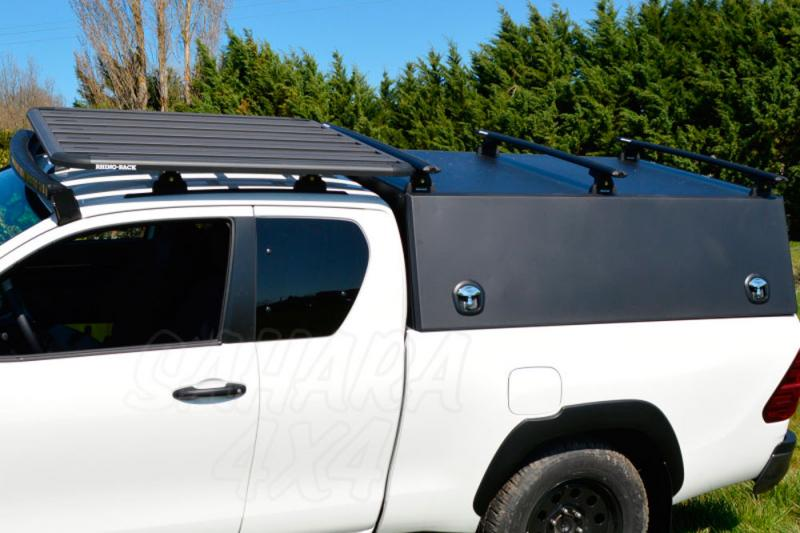 Hard Top Aluminio Rockalu para Ford Ranger Doble Cabina