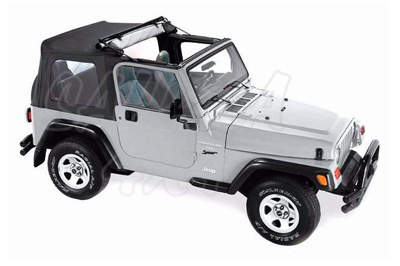 Flip Top Pavement end´s , con Sunrider Jeep TJ - Wrangler TJ 1997-2006