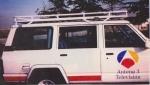Baca Gran Expedición Nissan Patrol 160 - PORTA EQUIPAJES MOD. AFRICANA LARGO INTEGRAL (GRAN CARGA)