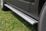 Estribos ovales en aluminio. Tipo S110 para Chevrolet Captiva 2006-2010 -