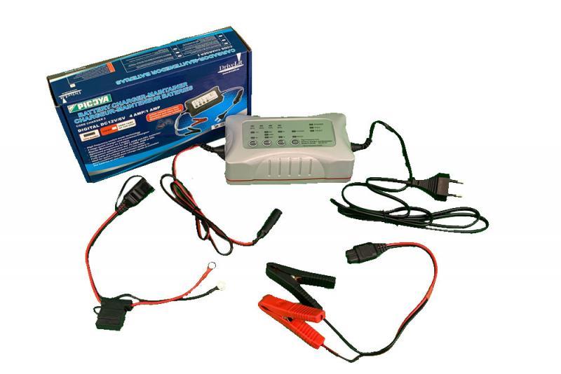 Cargador mantenedor de baterias ULTIMA GENERACION