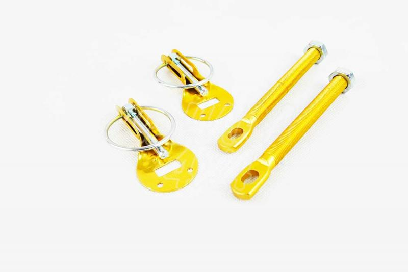 Cierres de Capó Tipo Anilla (Dorado) - La manera rápida de apertura, para asegurar capós y puertas traseras.
