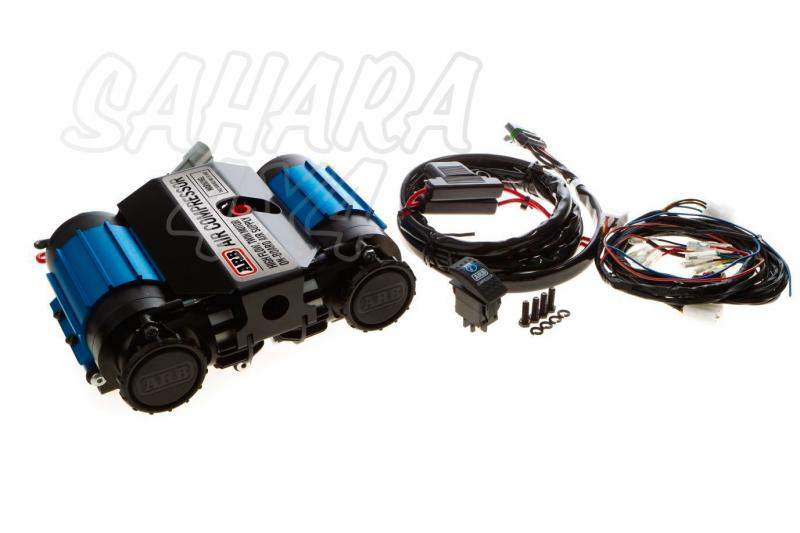 Compresor doble cuerpo ARB 12 vol CKMTA12 - Nuevo modelo de compresor 12v ARB. 132 LPM 200 KPA Tambien disponible version 24v.