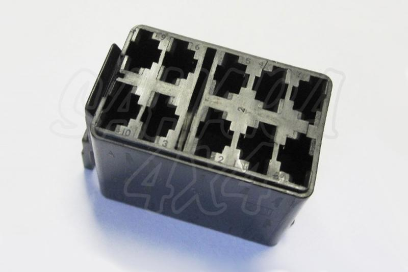 Conector Hembra para boton tipo ARB - Conector rápido para botón tipo ARB