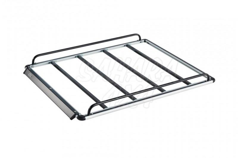 Kit Baca Alu Rack Cruz 130x120 - Con 6 soportes